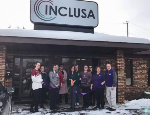 Inclusa celebrates location change with Ribbon Cutting